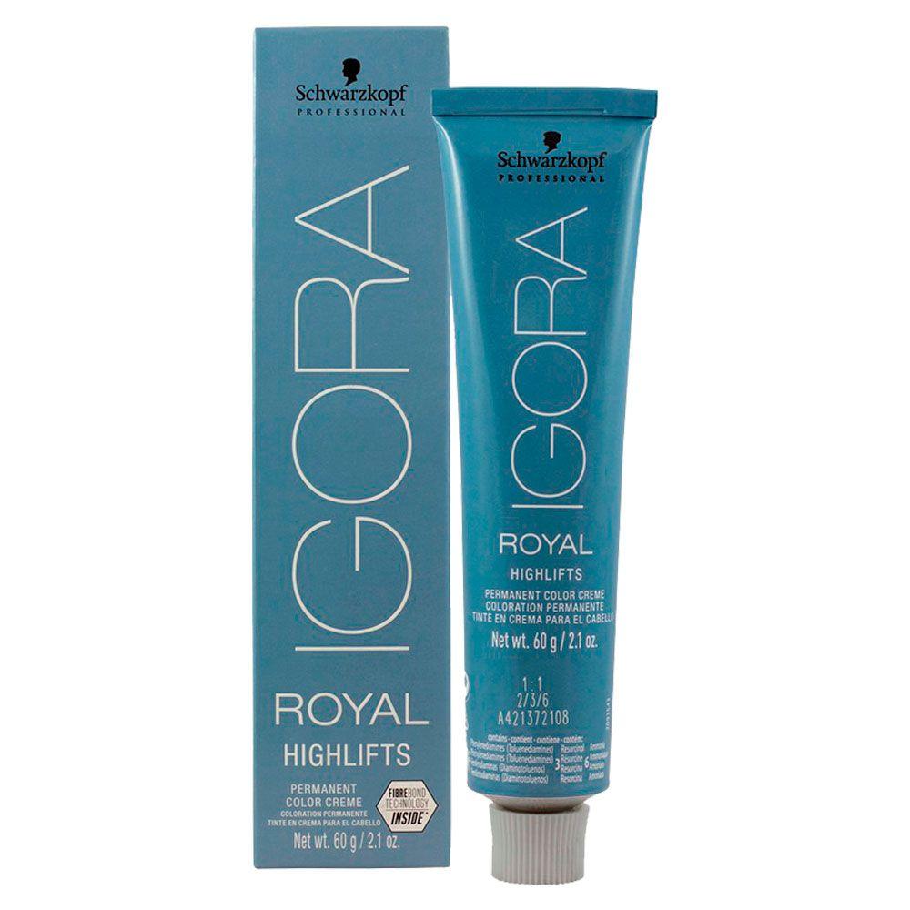 Coloração Igora Royal Highlifts 12.46 Superclareador Bege Marrom 60g