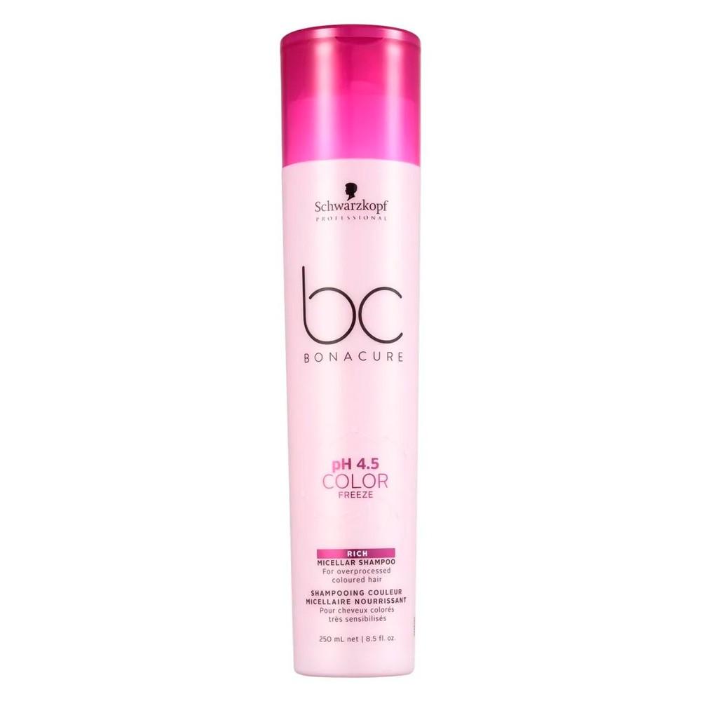 Shampoo Schwarzkopf BC pH 4.5 Color Freeze Rich 250ml
