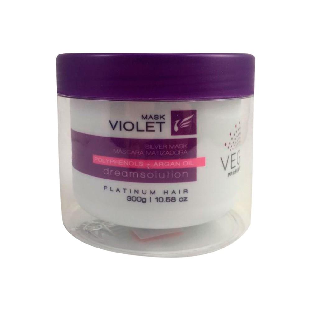 Máscara Matizadora Violet Vegas Professional 300g