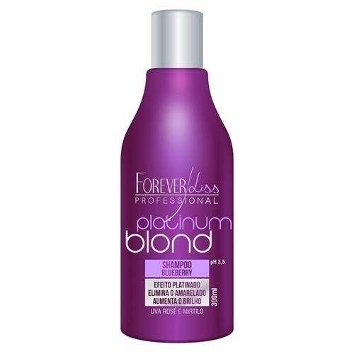 Shampoo Forever Liss Platinum Blond Blueberry 300ml