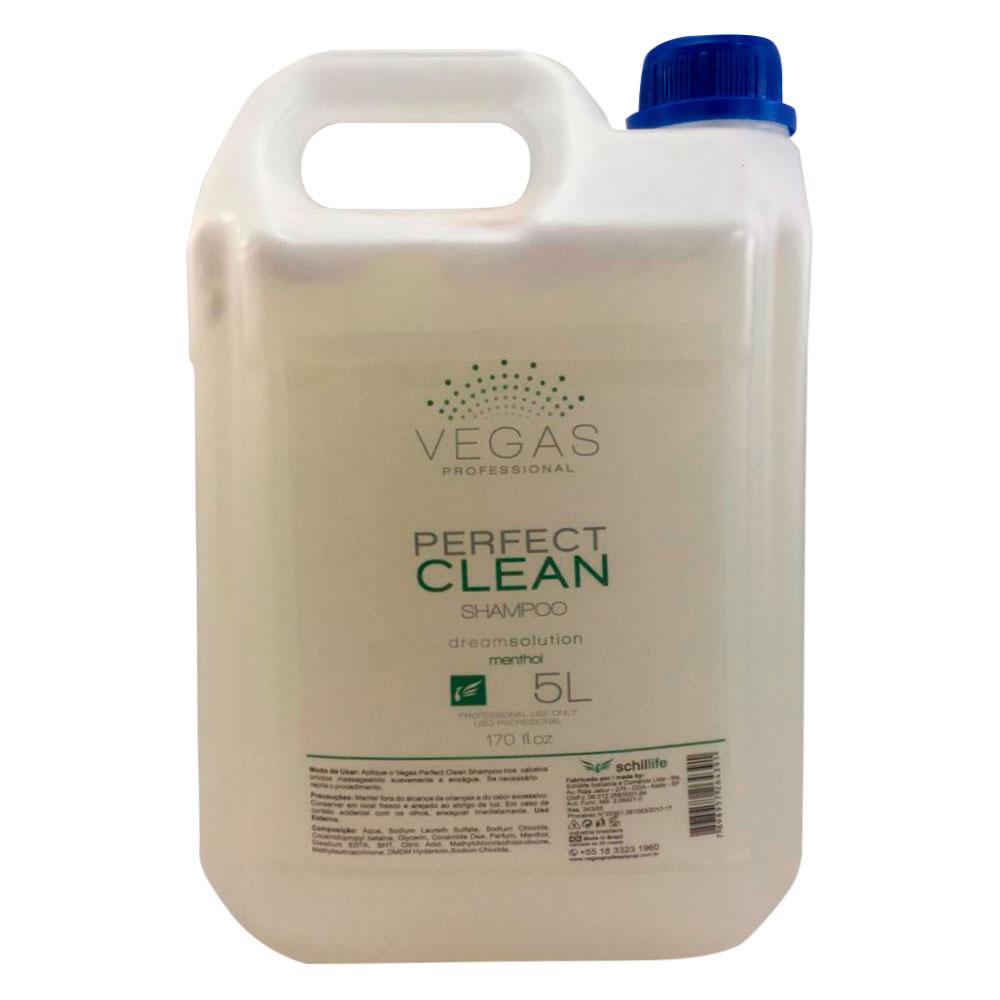 Shampoo de Lavatório Vegas Professional Perfect Clean 5L
