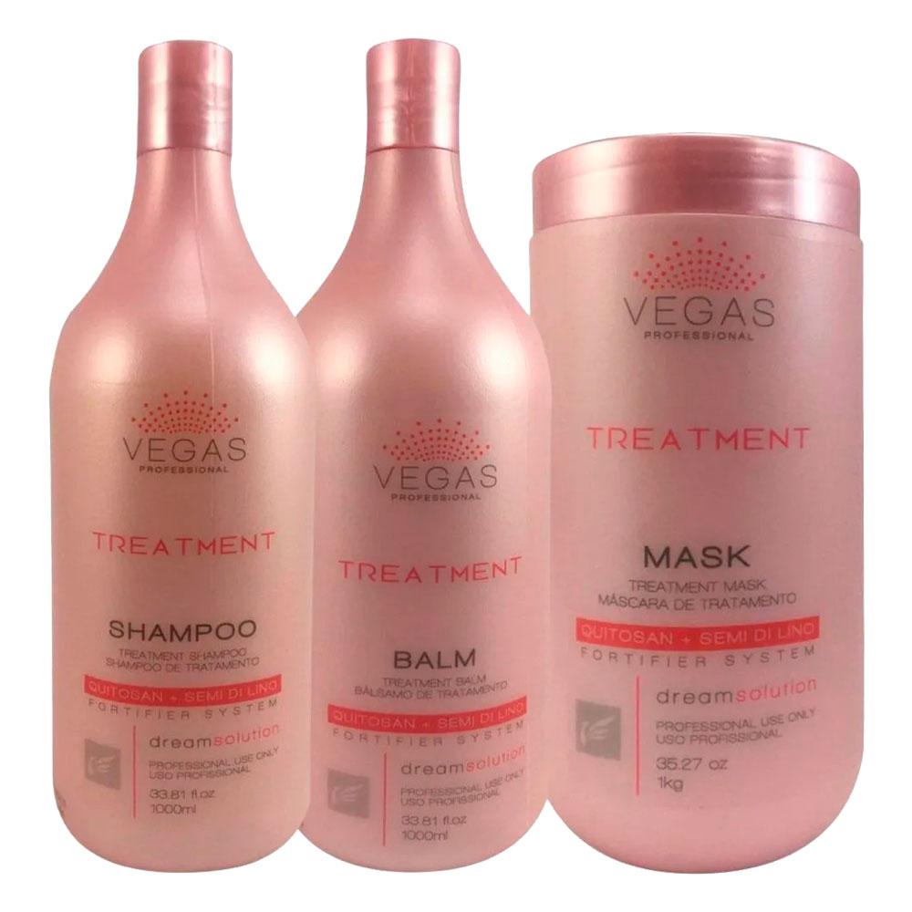 Kit Vegas Professional Treatment 3 Produtos
