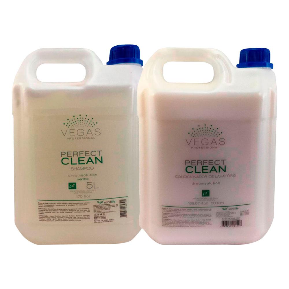 Kit Vegas Professional Lavatório Perfect Clean 2 Produtos