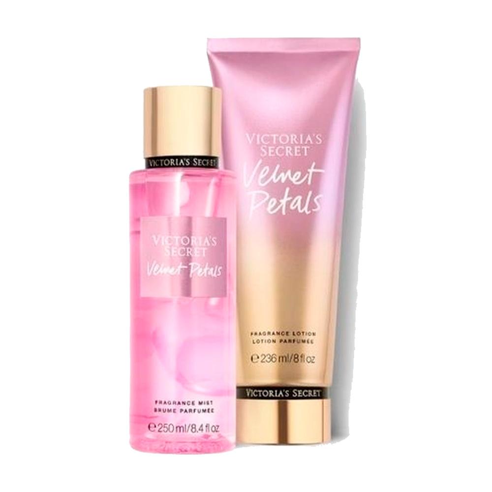 Kit Victoria's Secret Velvet Petals – 2 produtos