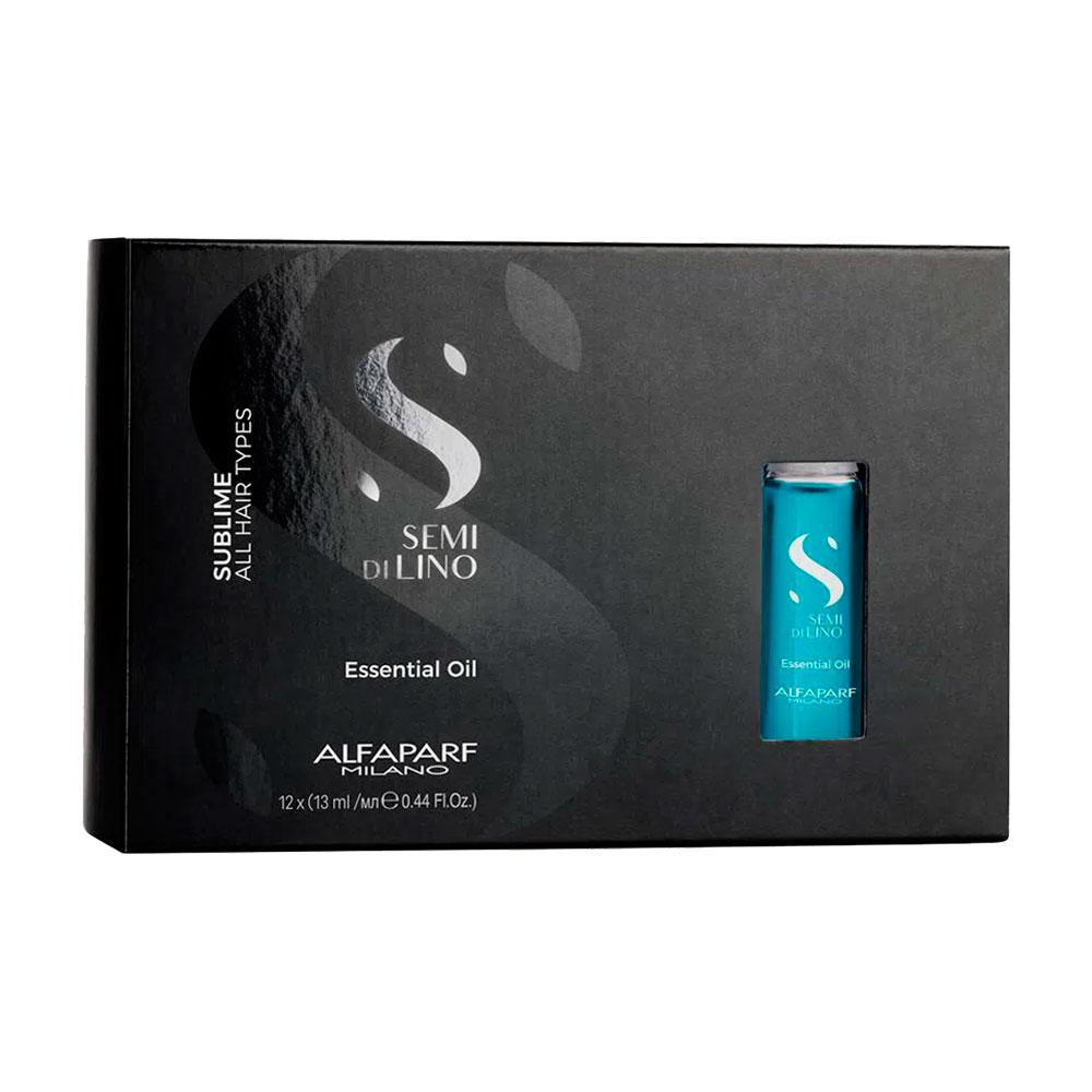 Ampola Alfaparf Semi Di Lino Sublime Essential Oil - 12x13ml