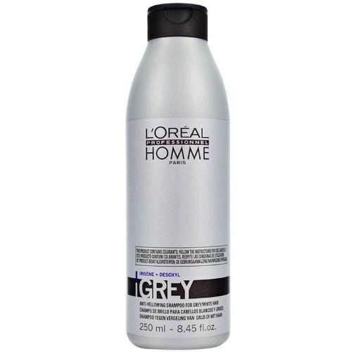 Shampoo Loreal Homme Grey 250ml