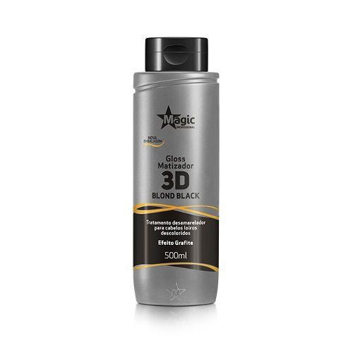 Matizador 3d Blond Black Magic Color 500ml