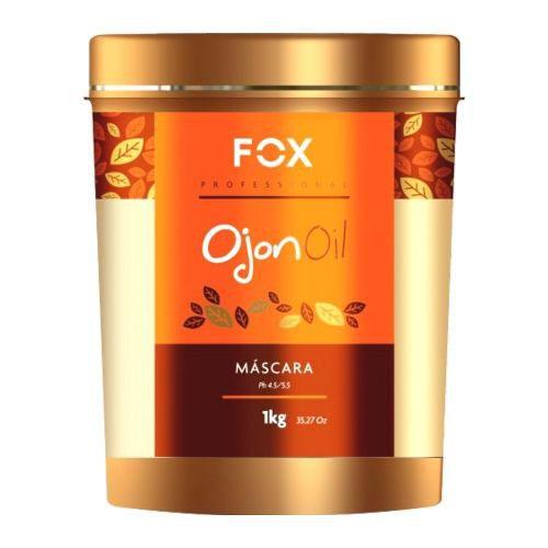 Fox Professional Máscara Ojon Oil Reposição De Aminoácidos 1kg