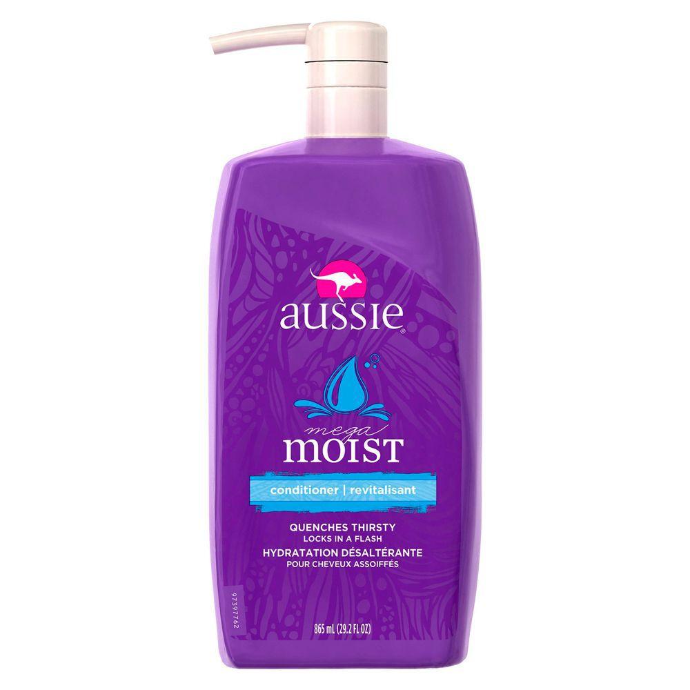 Aussie Condicionador Mega Moist Cabelos Secos 865ml