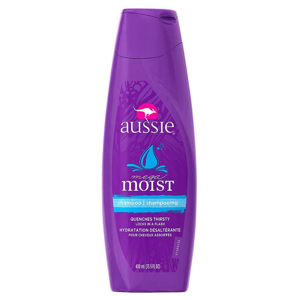 Shampoo Aussie Mega Moist Cabelos Secos 400ml