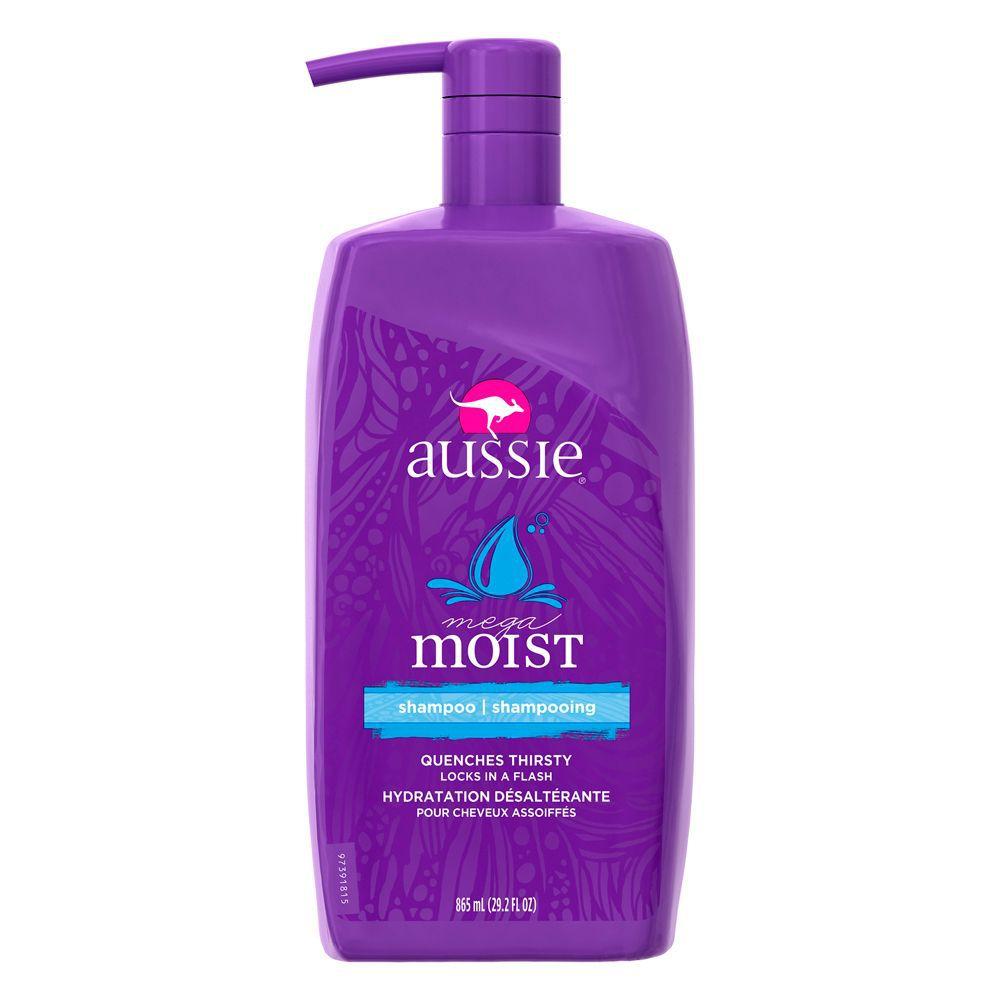 Shampoo Aussie Mega Moist Cabelos Secos 865ml