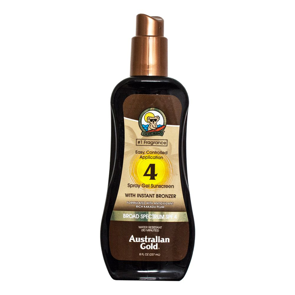 Australian Gold Protetor Solar SPF 4 Spray Gel 237ml