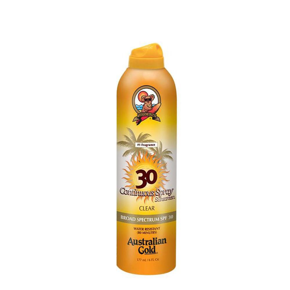 Australian Gold Protetor Solar SPF 30 Spray Clear 177ml