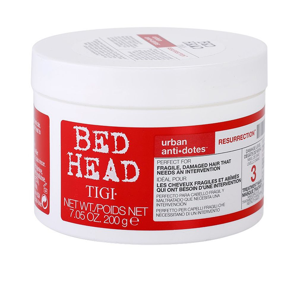 Bed Head Máscara TIGI Urban Anti+Dotes 3 Resurrection 200g