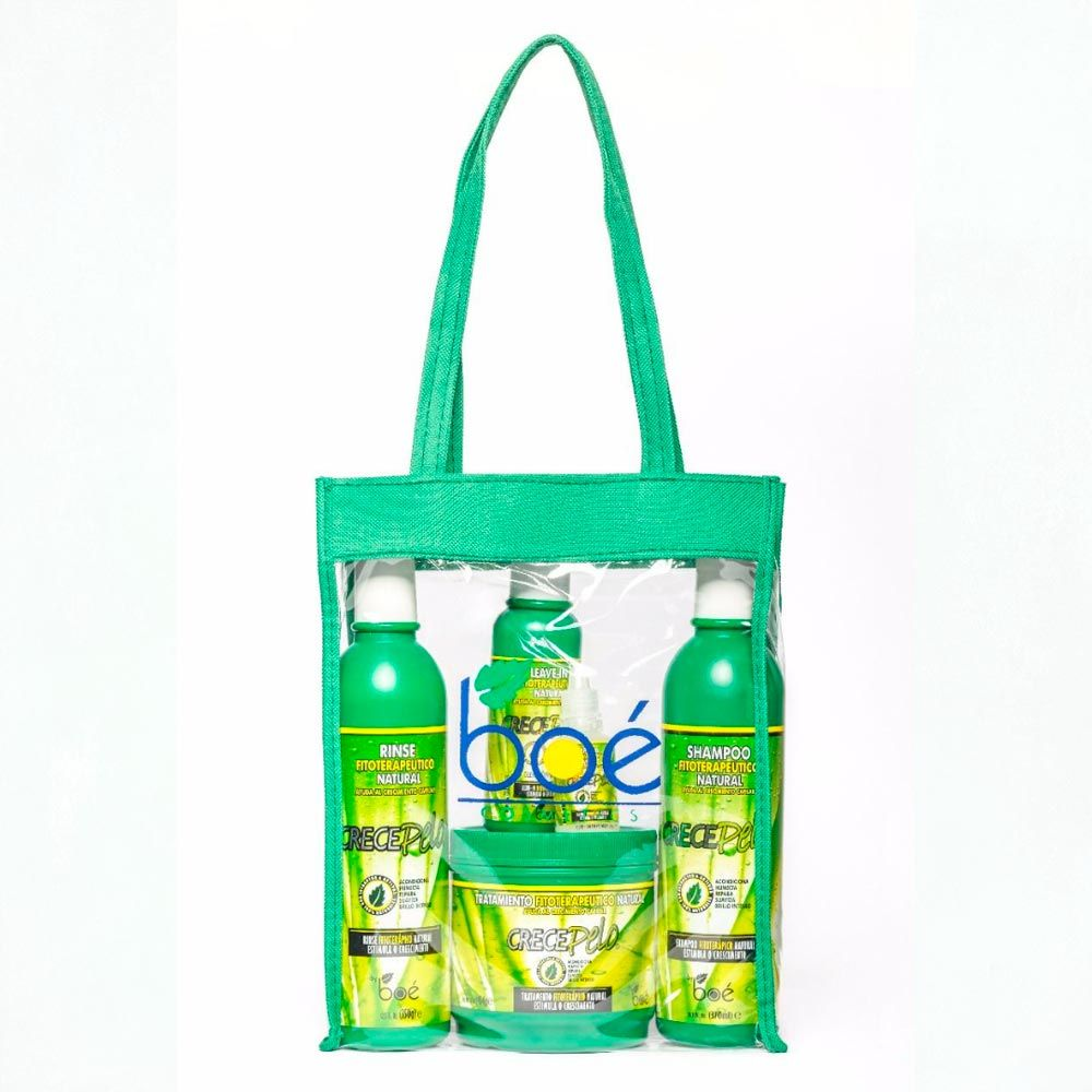 Boé Crece Pelo Kit com Máscara de 240g