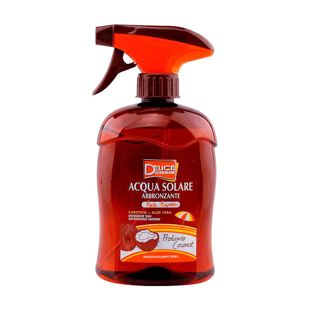 Bronzeador Delice Solaire Acqua Solare Profumo Coconut 500ml