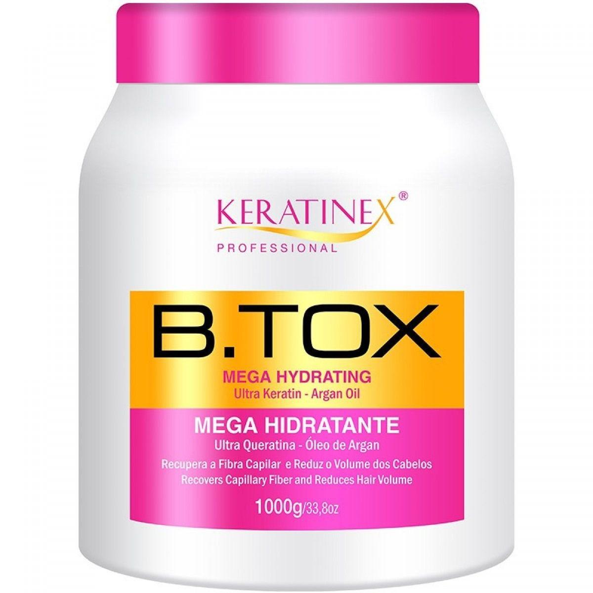 Redutor de Volume Keratinex Mega Hidratante 1kg
