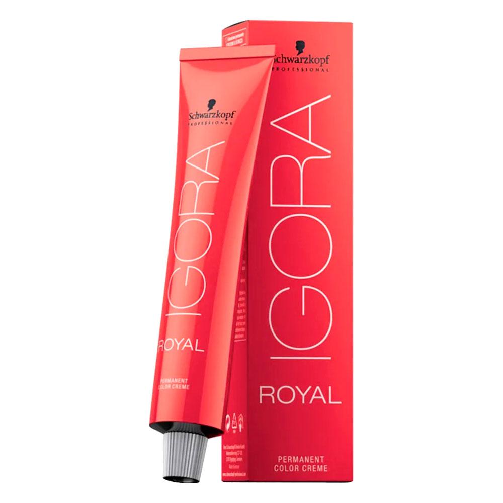 Coloração Igora Royal 0-11 Tom Mistura Cinza 60g