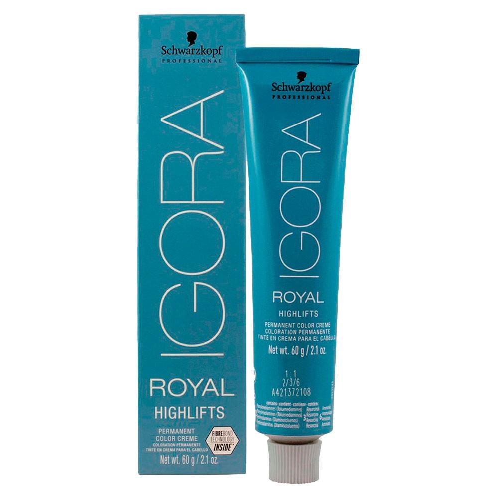 Coloração Igora Royal Highlifts 12-11 Super Clareador Cinza Extra 60g