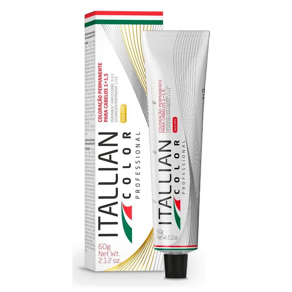 Coloração Itallian Color 5.0 Castanho Claro 60g