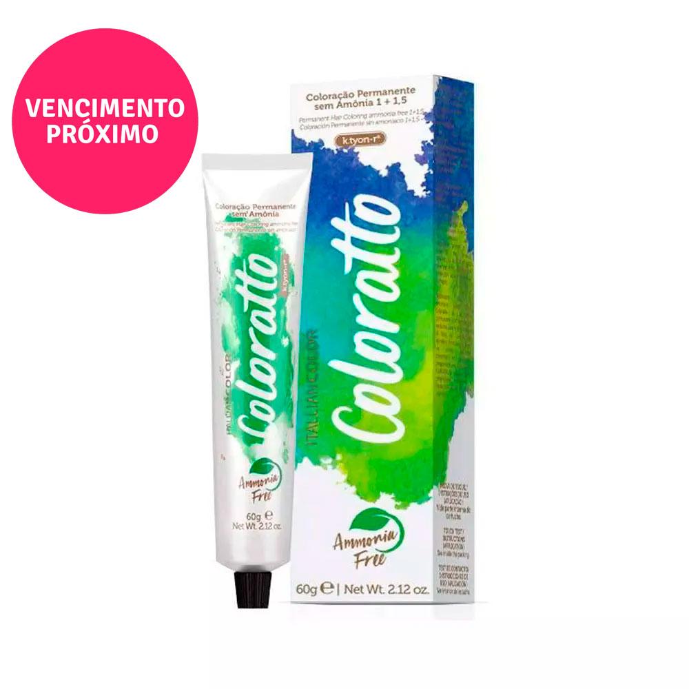 Coloração Itallian Coloratto 8.0 Louro Claro 60g
