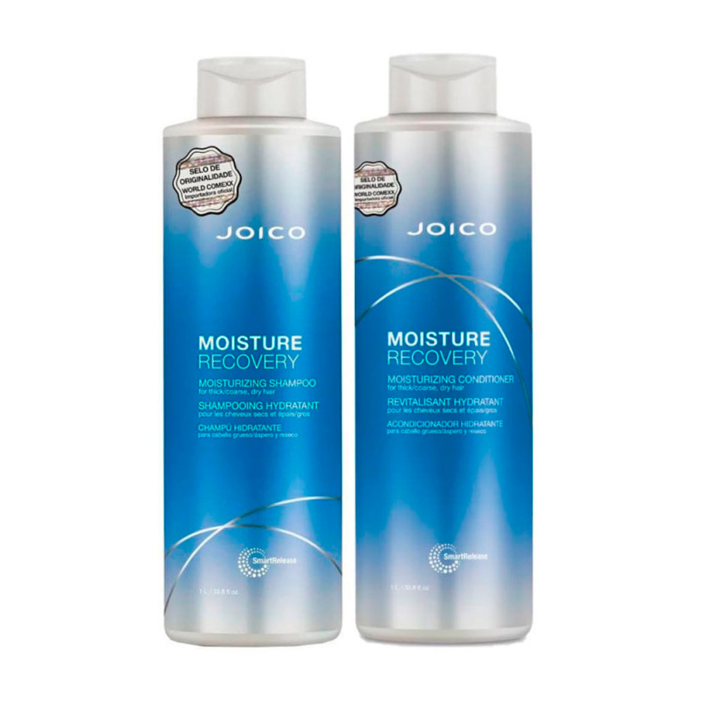 Kit Joico Moisture Recovery Duo Profissional (2x1L)
