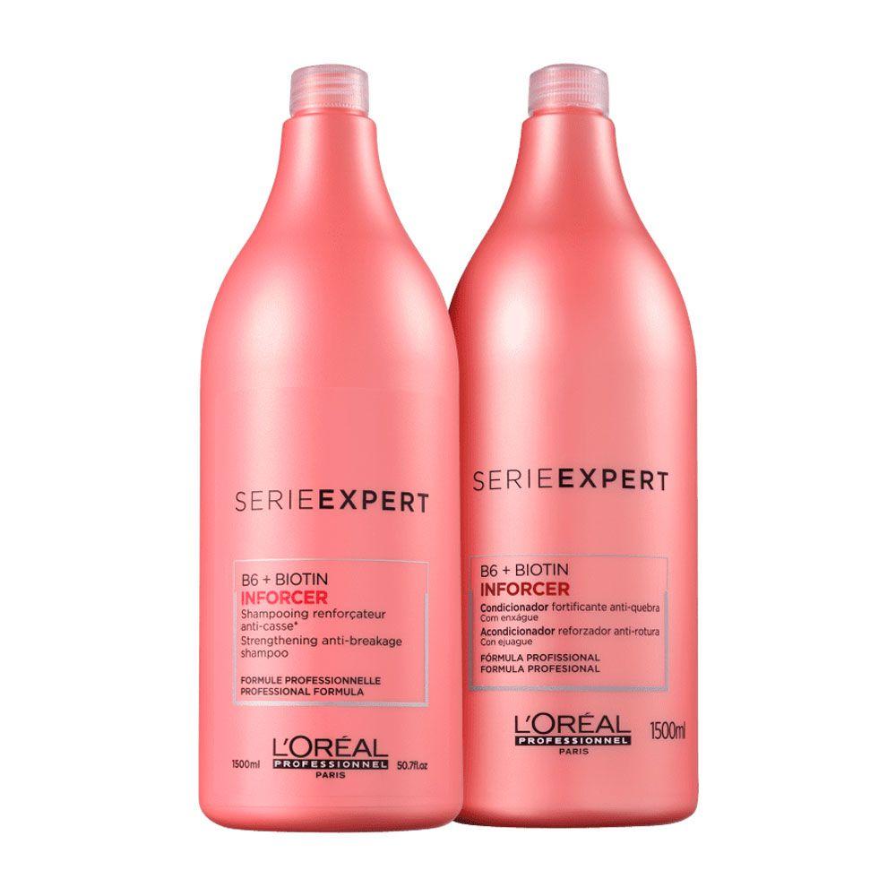 Kit L'Oréal Professionnel Inforcer Serie Expert - 2 Produtos