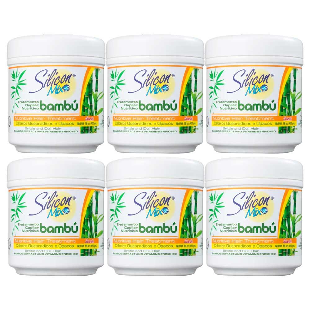 Kit Silicon Mix Bambú Nutritivo Máscara - 6 un