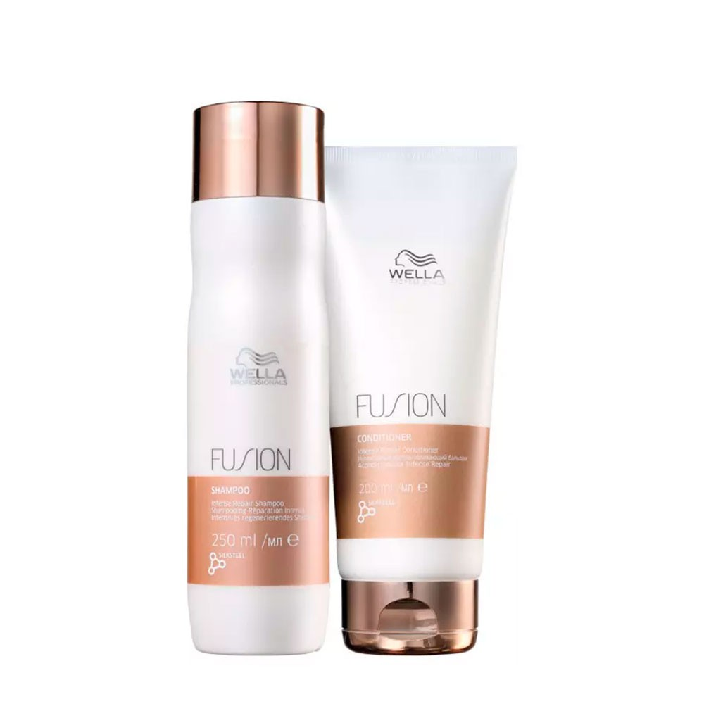 Kit Wella Fusion Intense Repair Shampoo e Condicionador