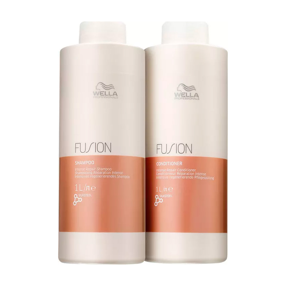 Kit Wella Fusion Salon Duo - 2 Produtos