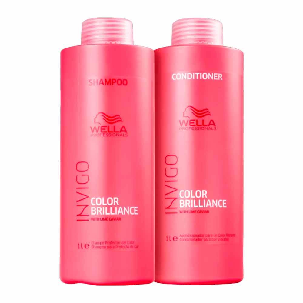 Kit Wella Invigo Color Brilliance Salon Duo 2 Produtos
