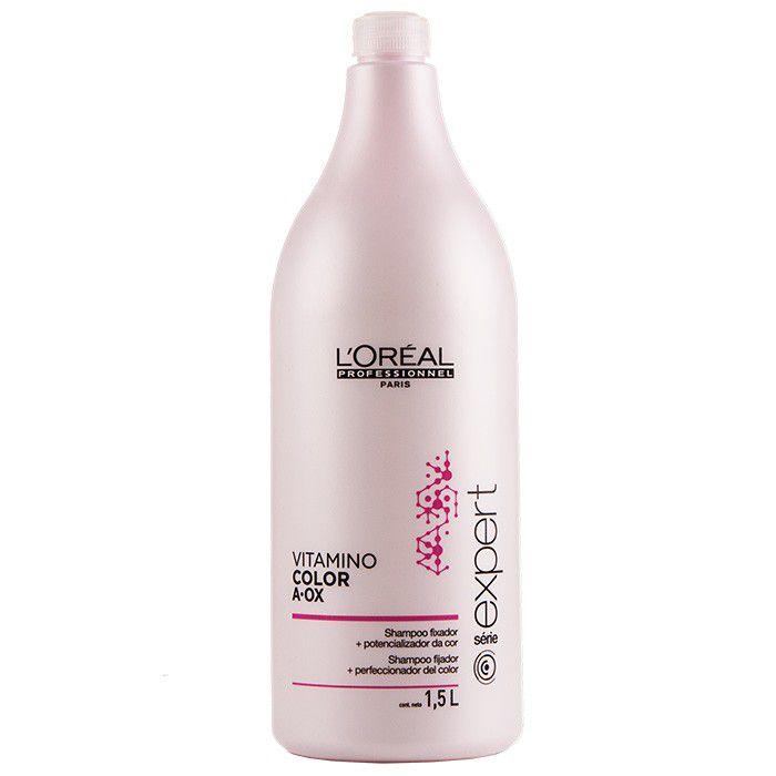 Shampoo Loreal Vitamino Color AOX Profissional 1,5 Litro