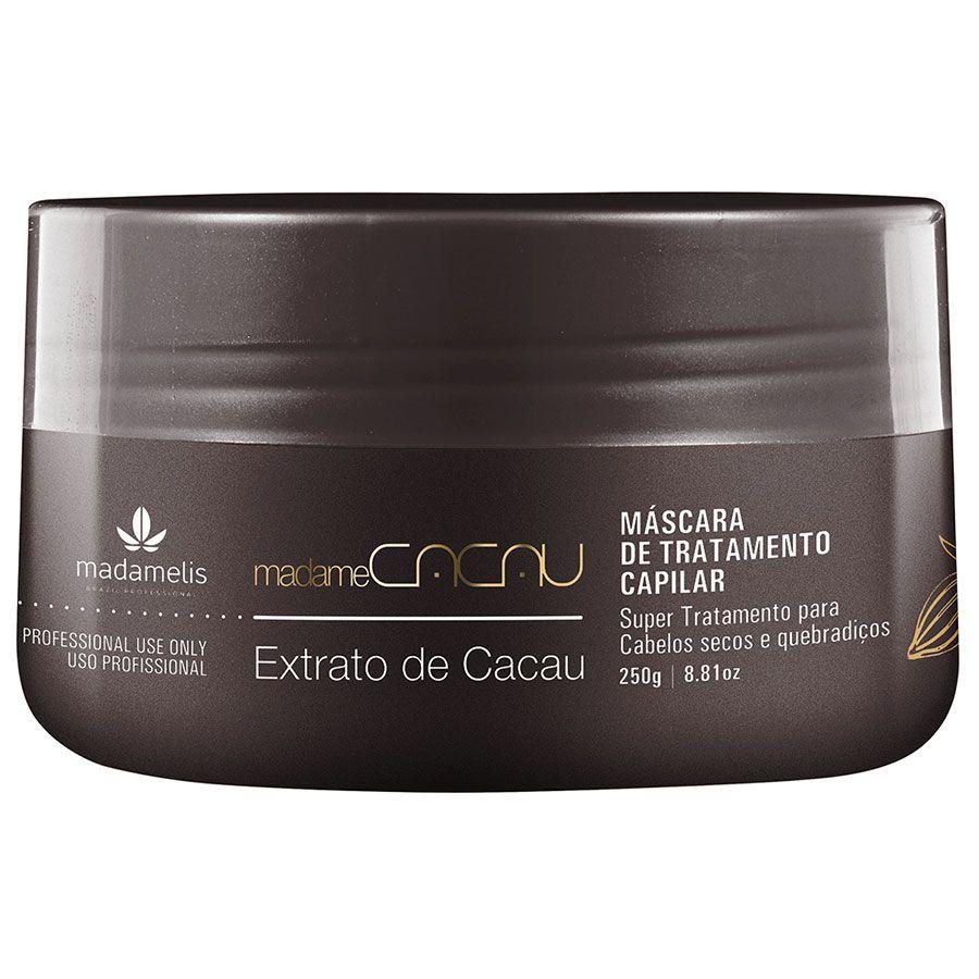 Madamelis Máscara Madame Cacau Hidratação Profunda 250g