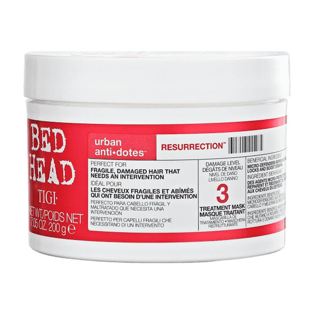 Máscara Bed Head TIGI Urban Anti+Dotes 3 Resurrection 200g