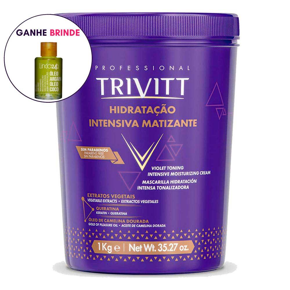 Máscara Itallian Trivitt Blond Hidratação Intensiva  1kg