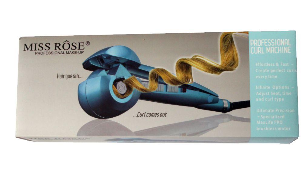Modelador De Cachos Nano Titanium Bivolt Azul Miss Rôse
