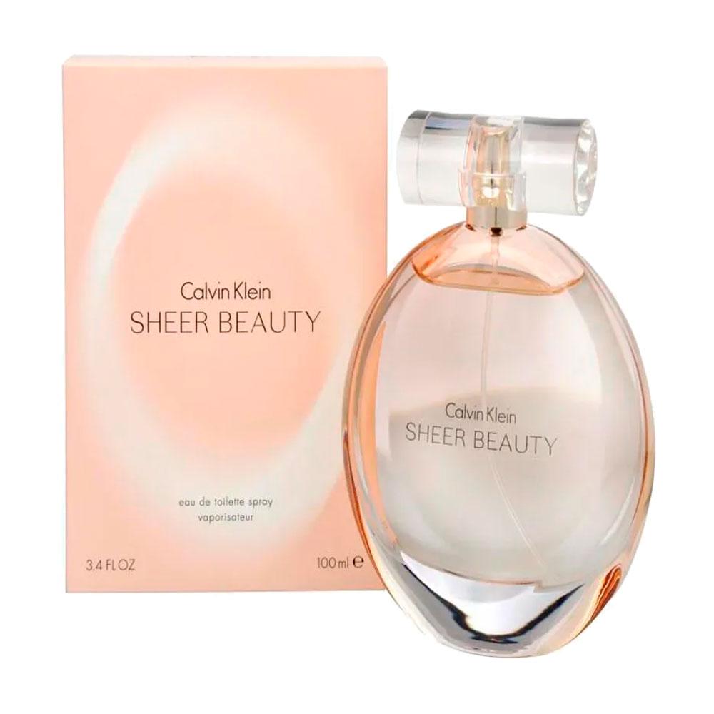 Perfume Feminino Calvin Klein Sheer Beauty EDT 100ml