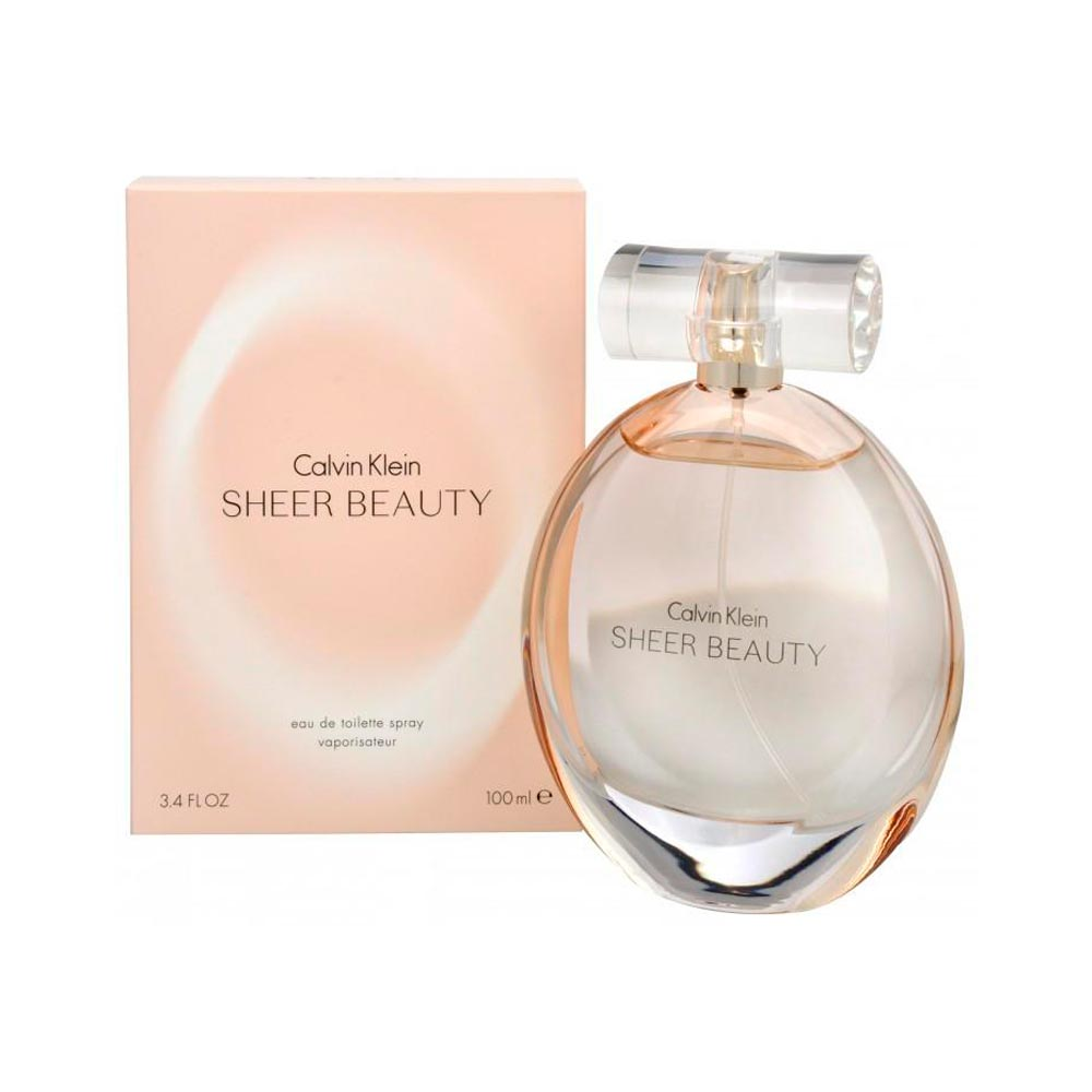Perfume Feminino Calvin Klein Sheer Beauty EDT 100ml