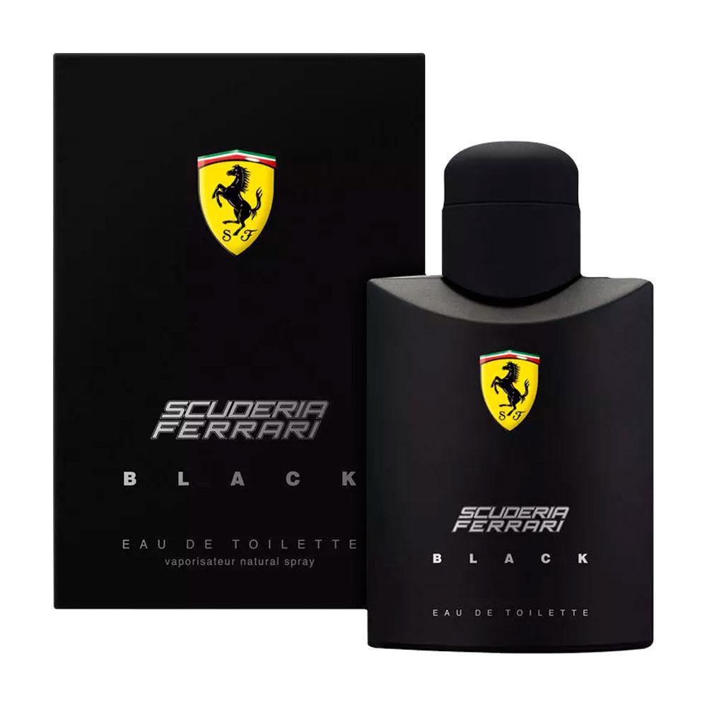 Perfume Masculino Ferrari Black Eau De Toilette 125ml