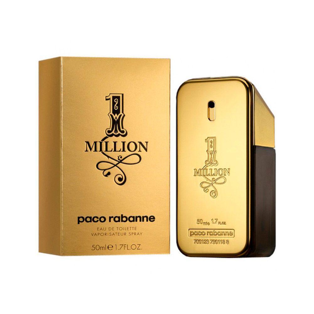 Perfume Masculino Paco Rabanne 1 Million EDT 50ml