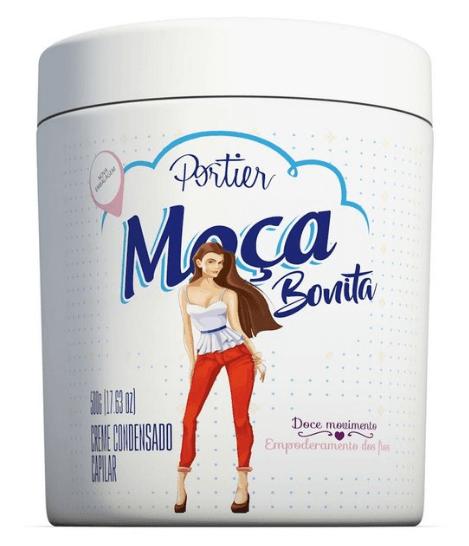 Portier Gourmet Moça Bonita Mascara Capilar Leite Moça 500g