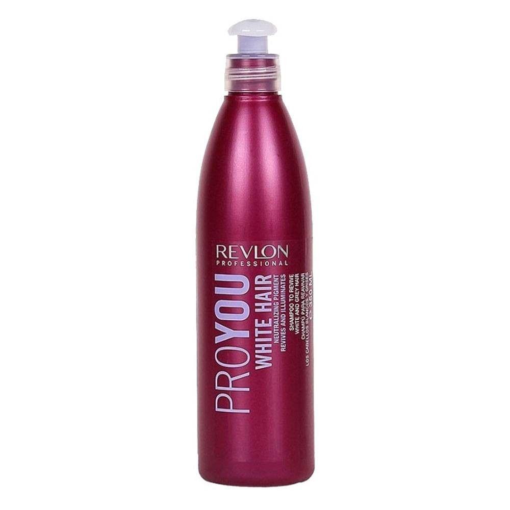 Shampoo Revlon ProYou White Hair Cabelos Loiros 350ml