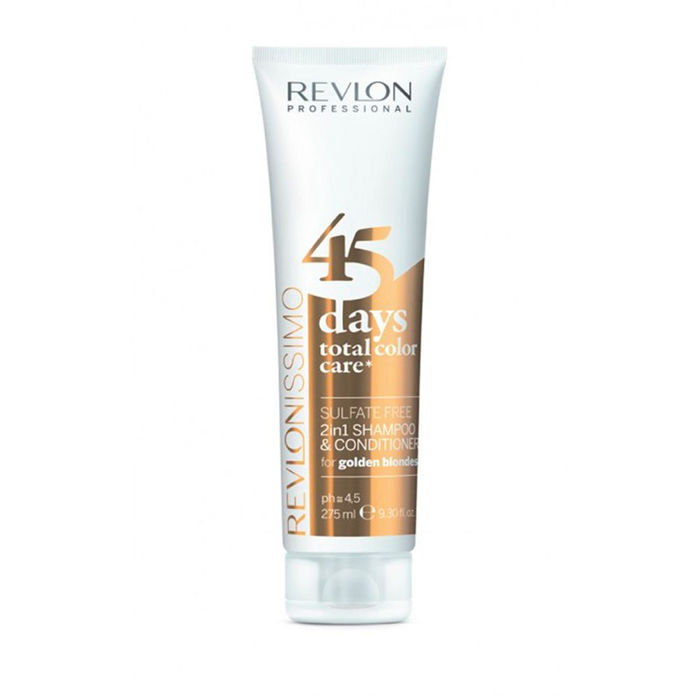 Shampoo Revlon Revlonissimo 45 Dias Golden Blondes 275ml