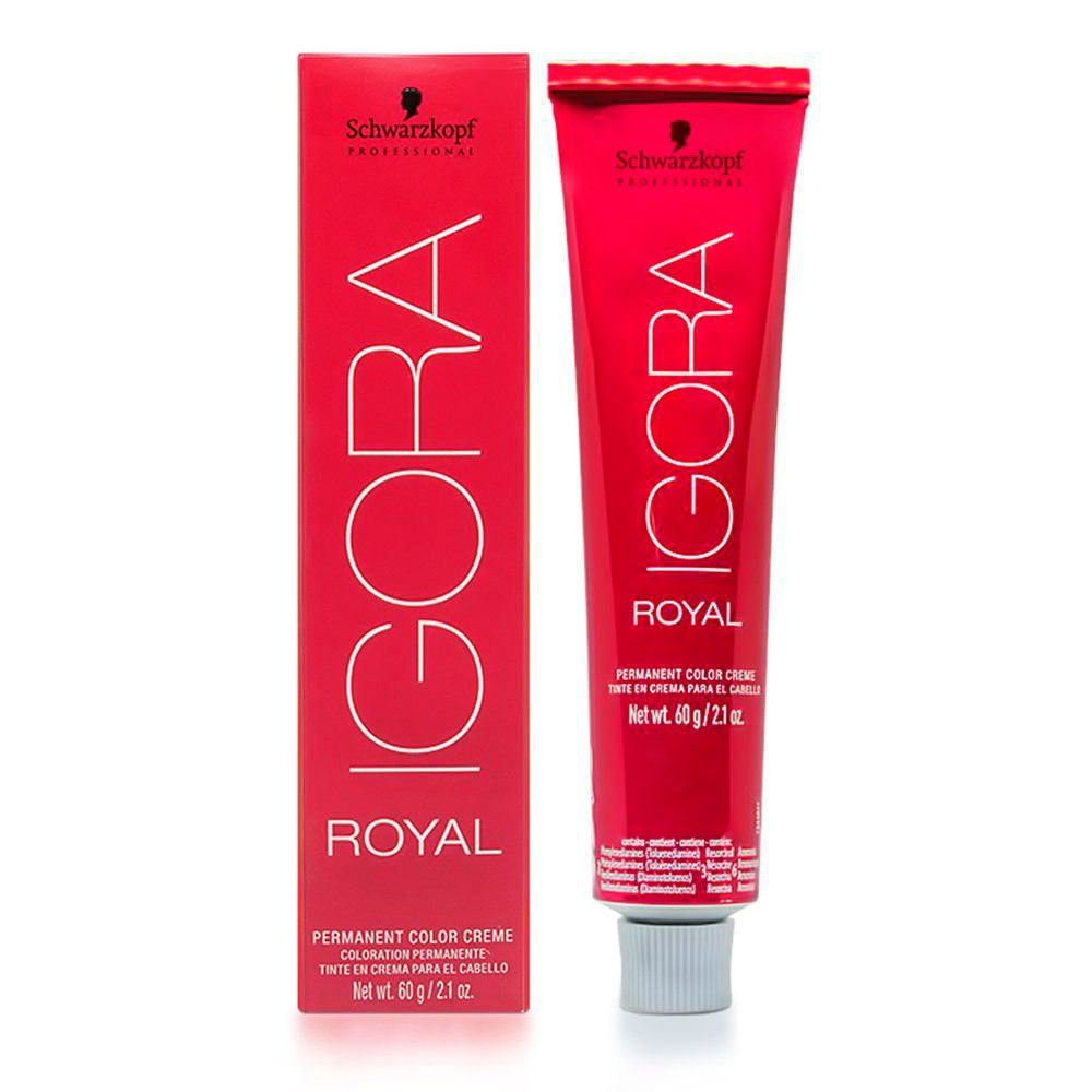 Kit 4 Coloração Igora Royal 8.77 + 9.7