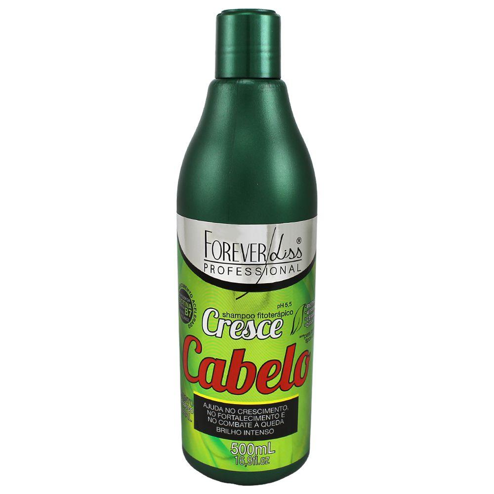 Shampoo Forever Liss Cresce Cabelo Fitoterápico 500ml