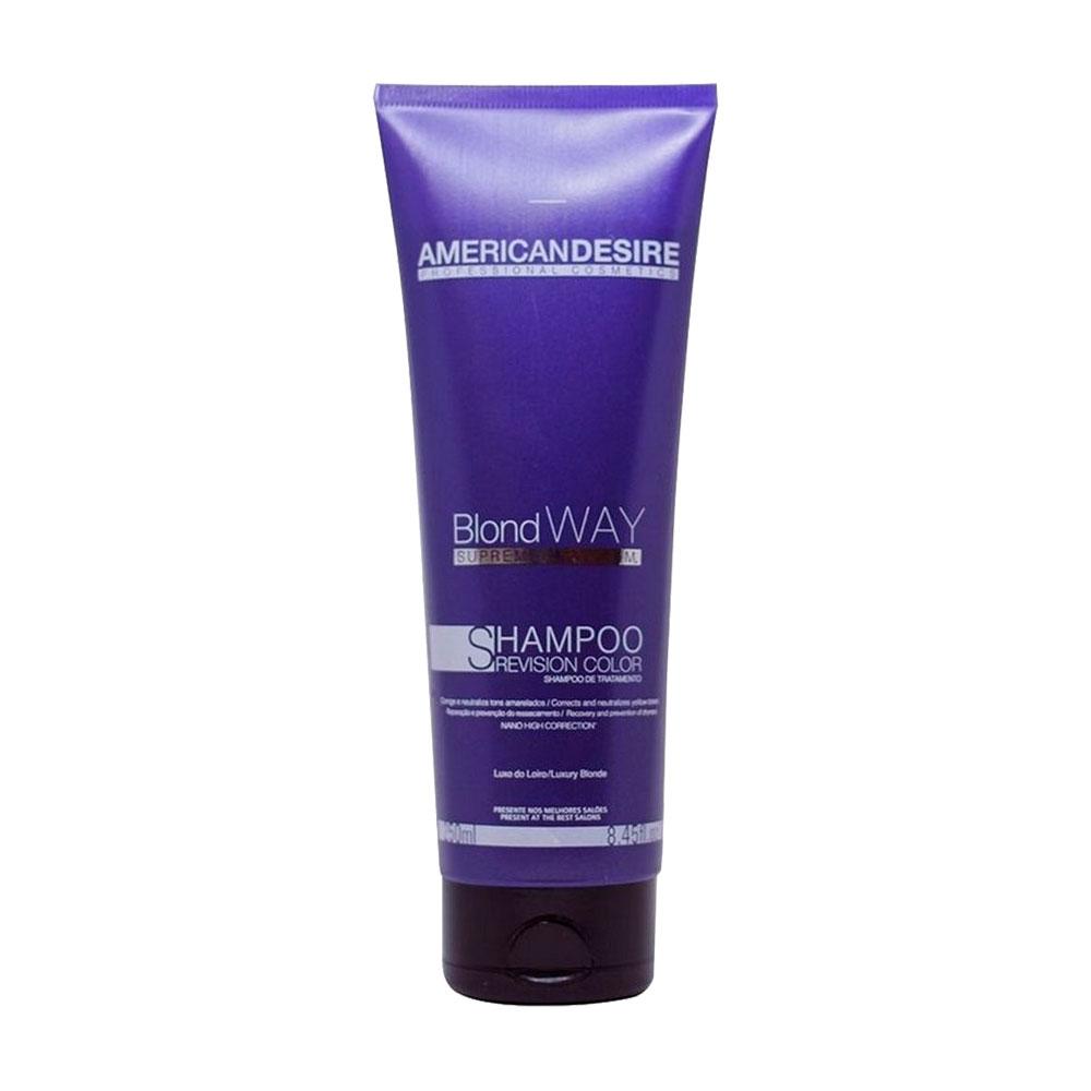 Shampoo American Desire Blond Way Supreme Platinum 250ml