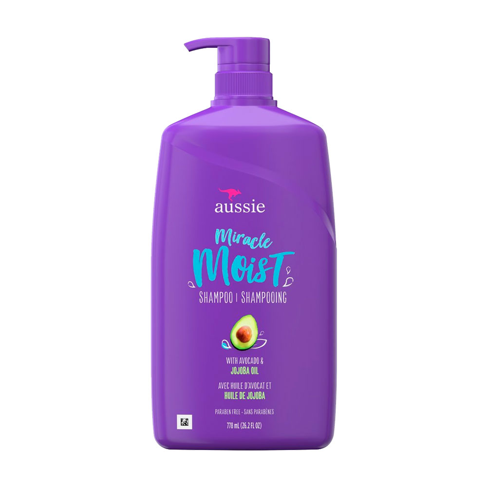 Shampoo Aussie Miracle Moist Jojoba Oil 778ml