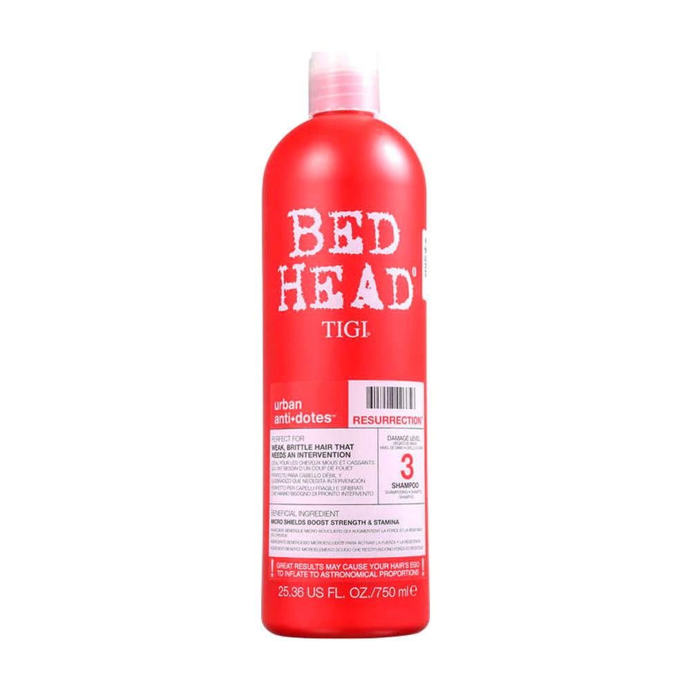 Shampoo Bed Head TIGI Urban Anti+Dotes 3 Resurrection 750ml
