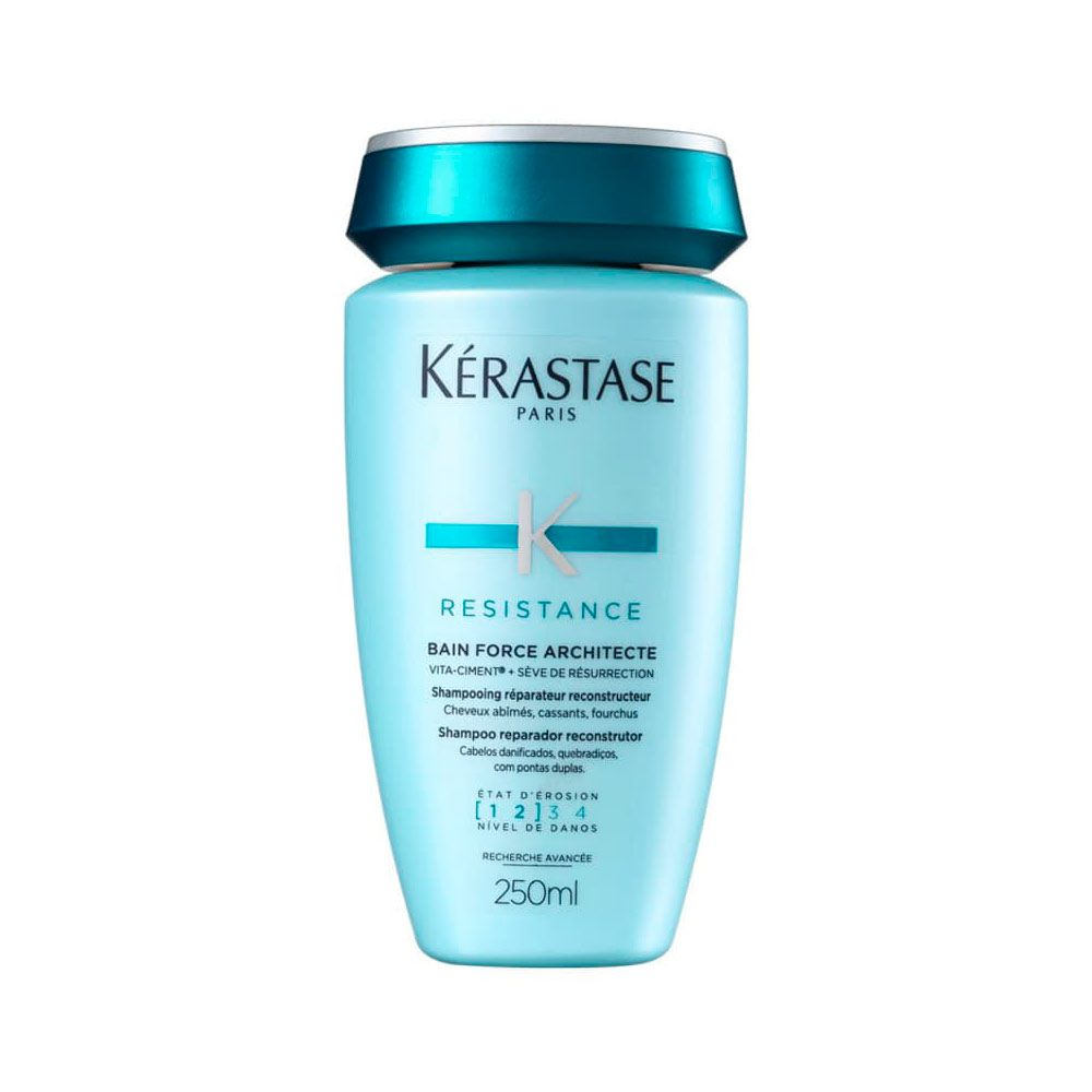 Shampoo Kérastase Resistance Bain Force Architecte 250ml