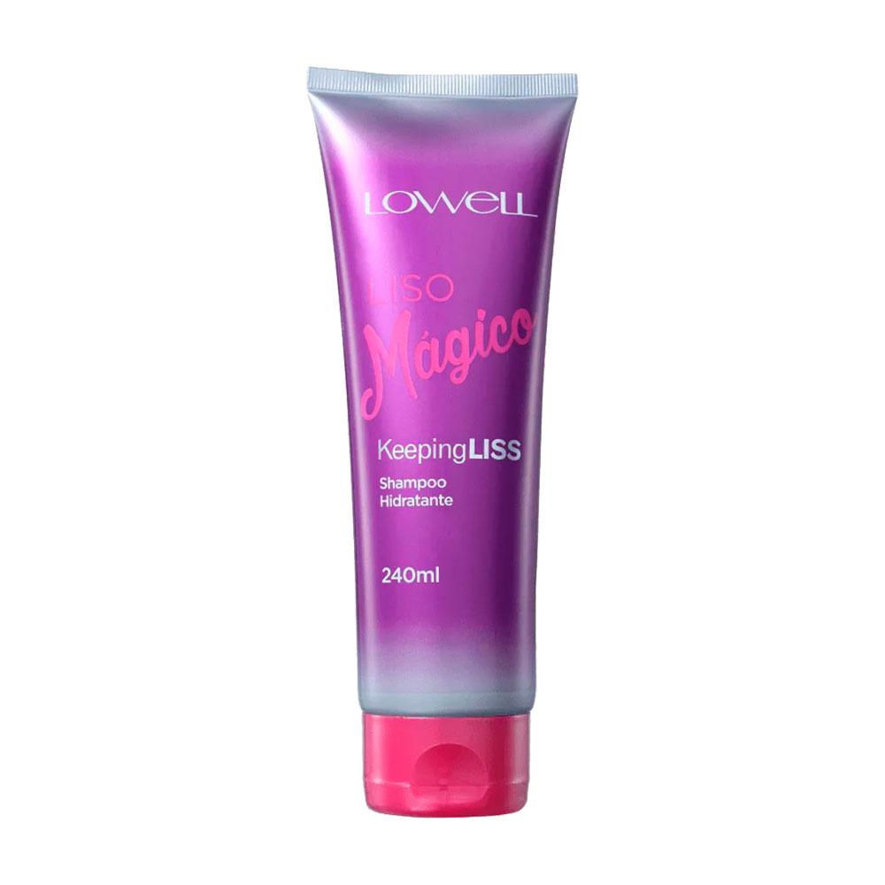 Shampoo Lowell Liso Mágico Keeping Liss 240ml